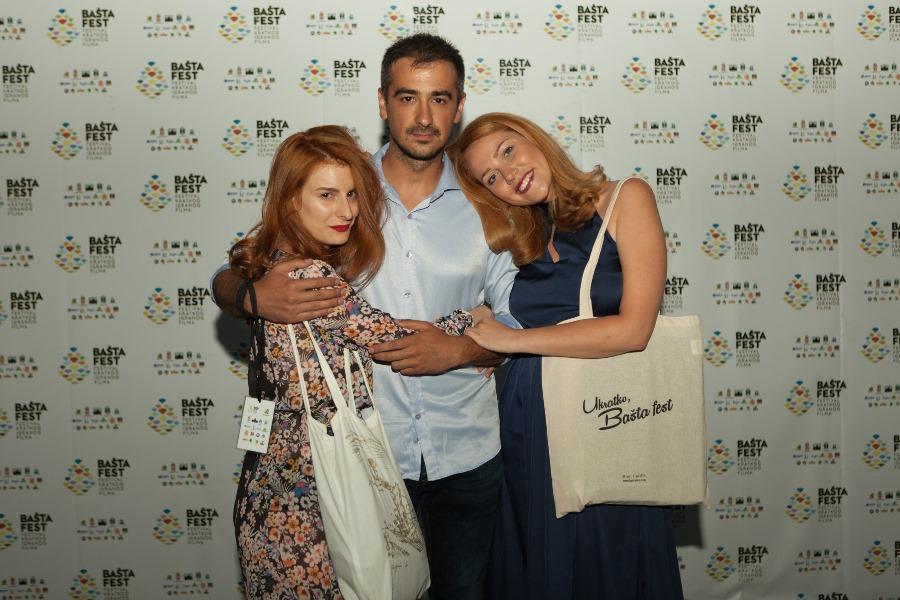 Hana Selimović, Jovan Jelisavčić i Maja Šuša